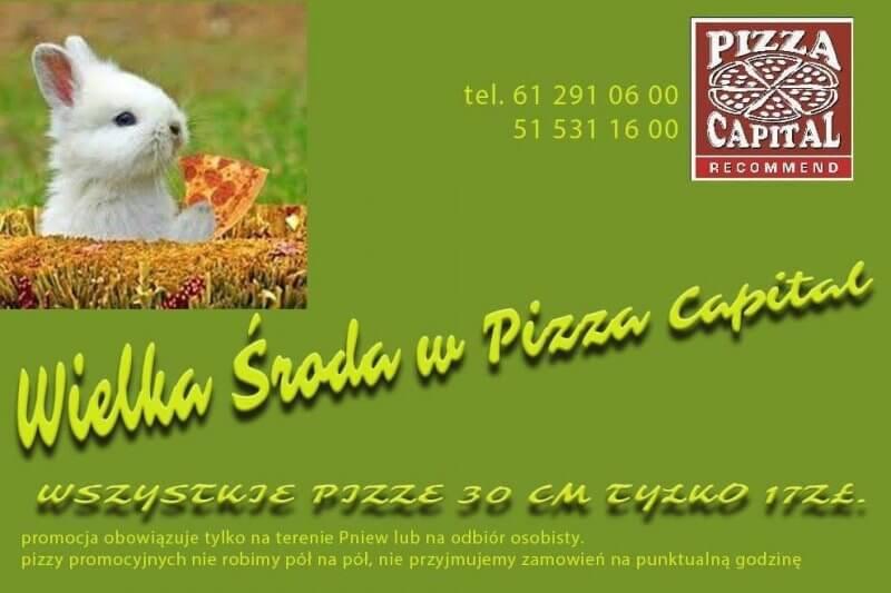 Pizza Capital ma dziś świetną promocję