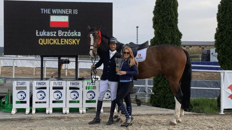 Łukasz Brzóska wygrywa Grand Prix Nadziei Olimpijskiej iOrła Białego wOlszy
